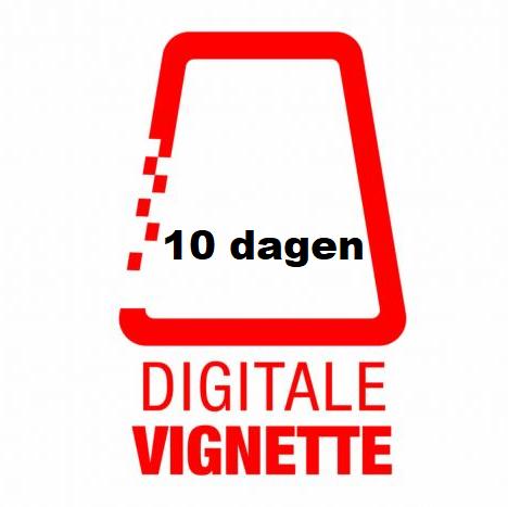 digitaal vignet oostenrijk 10 dagen