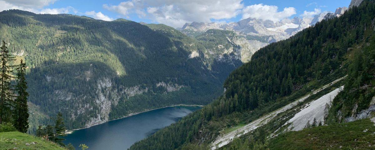 Vorderer Gosausee - Oostenrijk - Van Rotenhofhutte naar de Mahdalmhutte